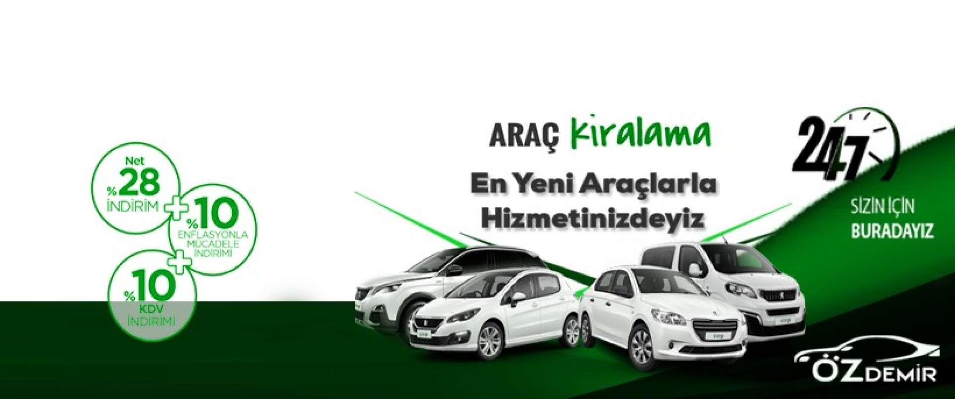kampanyalı araçlarımız